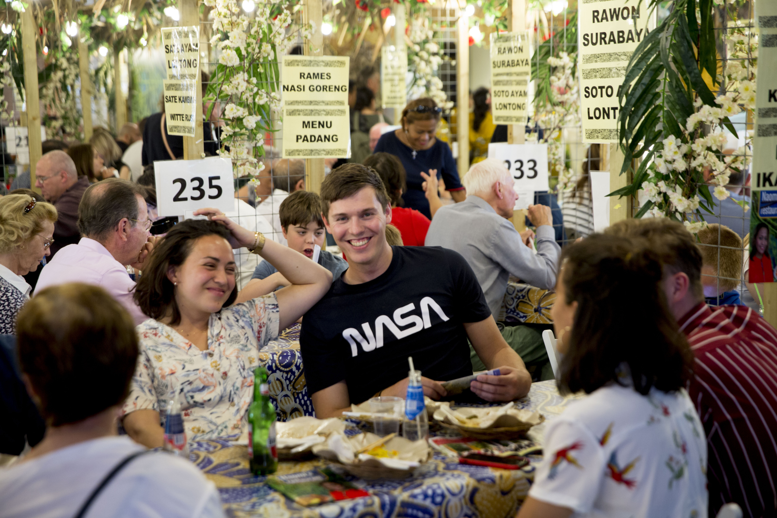 Altijd een populaire bestemming: de Eetwijk Tong Tong Fair